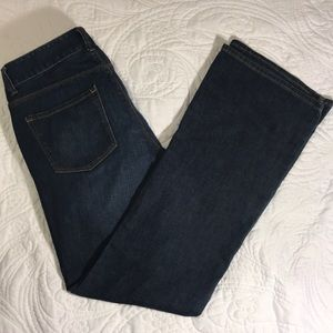 Ann Taylor modern boot cut jeans